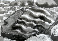 Wave pattern rock