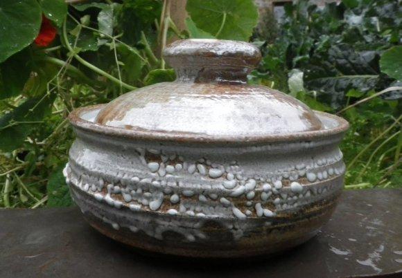 salt glazed casserole