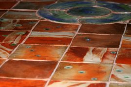 Salt Glaze Tile floor