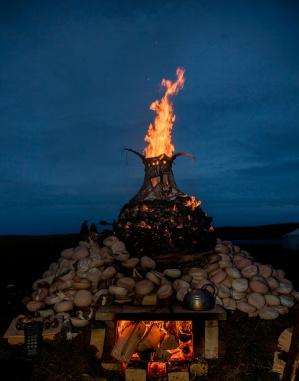 3 Mather_KW1_6756_Jenny Mackenzie Ross' Cairn Kiln Yarrows Archaeology festival