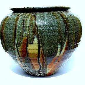 soda fired urn